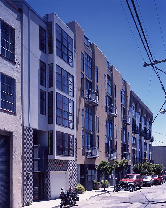 sternberg benjamin architects loft housing at 125 gilbert